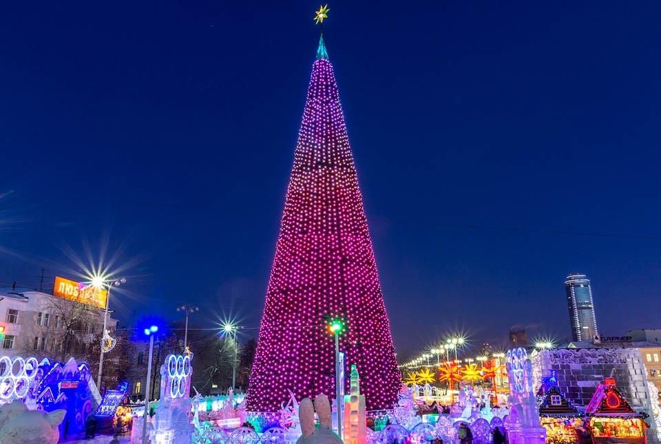 Мероприятия на Новый Год 2019 в Екатеринбурге