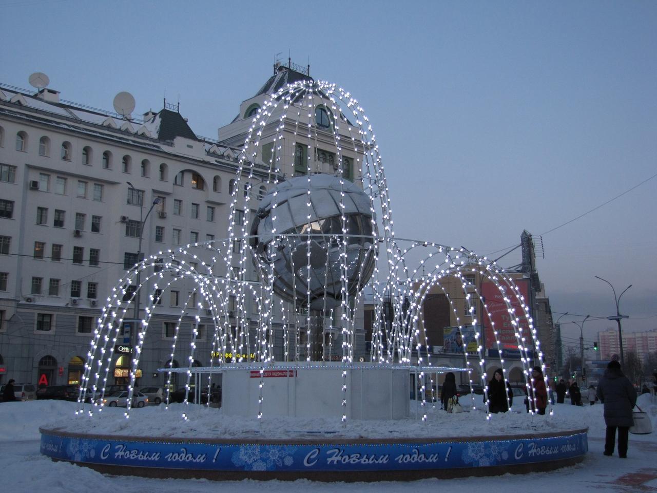 Запланированные новогодние мероприятия в Новосибирске 2016