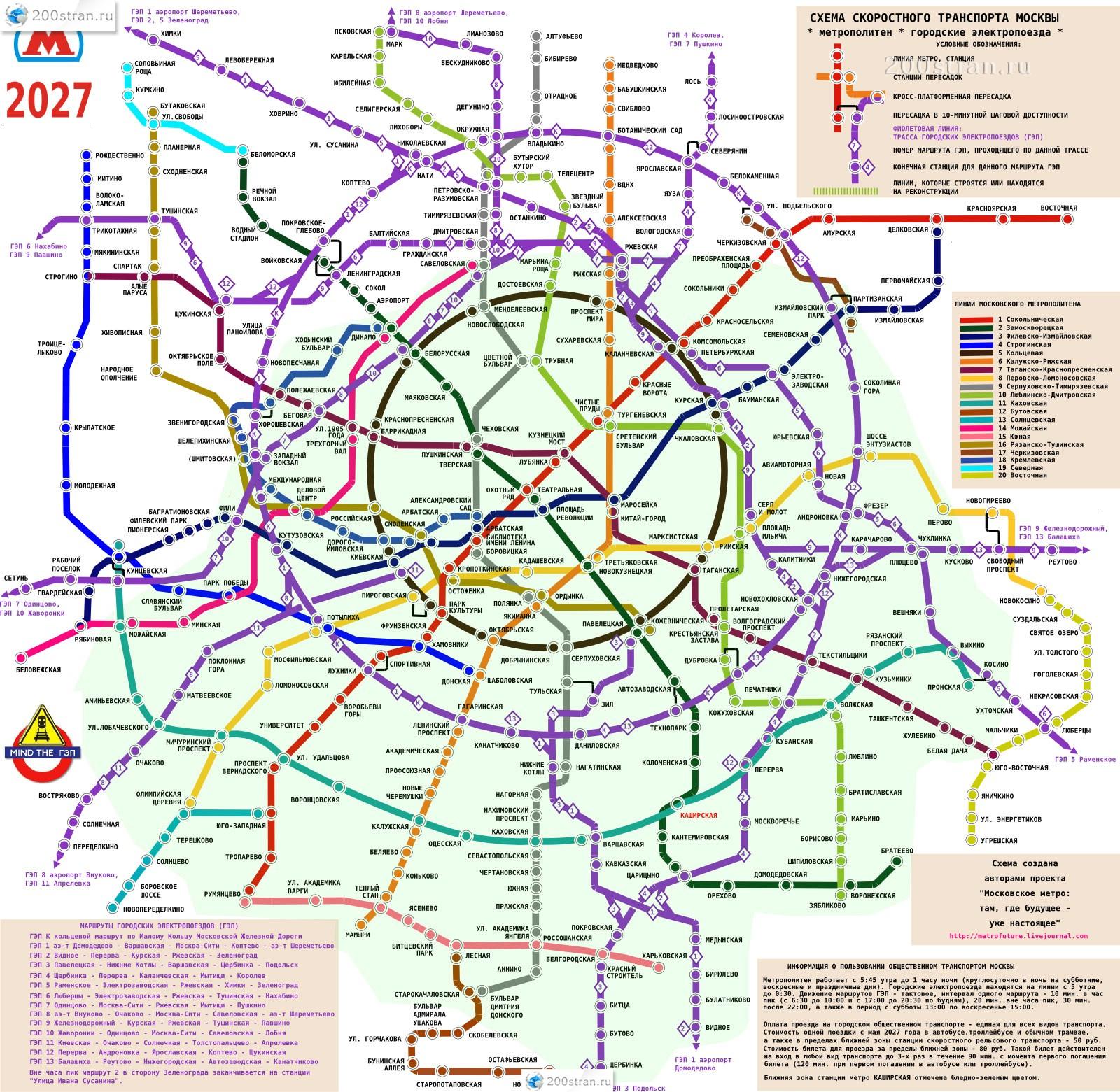Строящиеся станции метро до 2018 года
