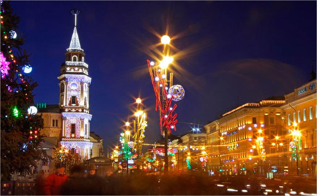 Главные новогодние мероприятия в СПб 2016
