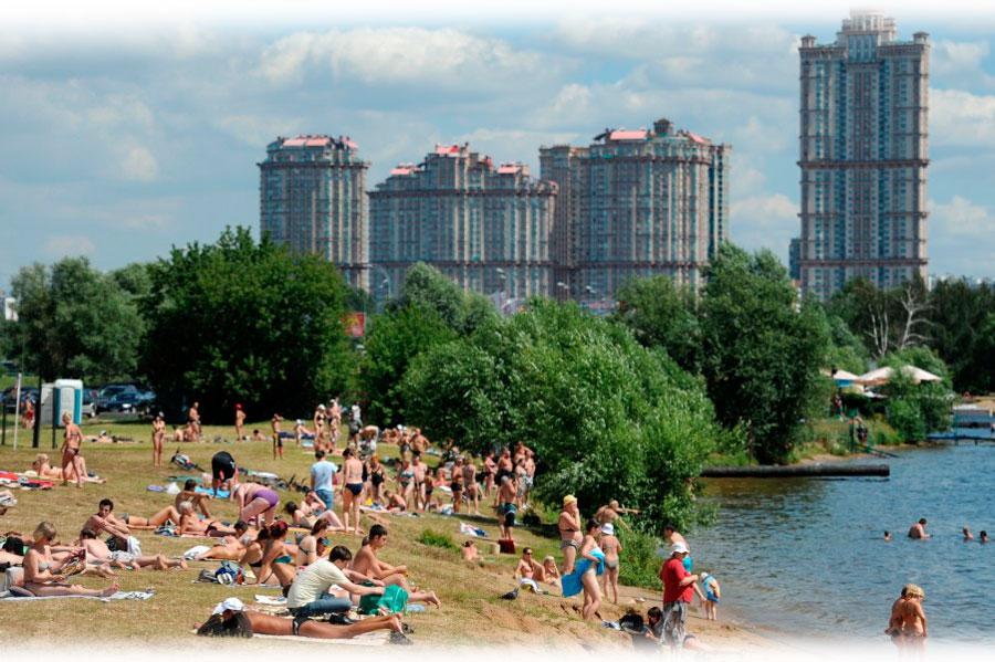 Бесплатные пляжи Москвы 2015