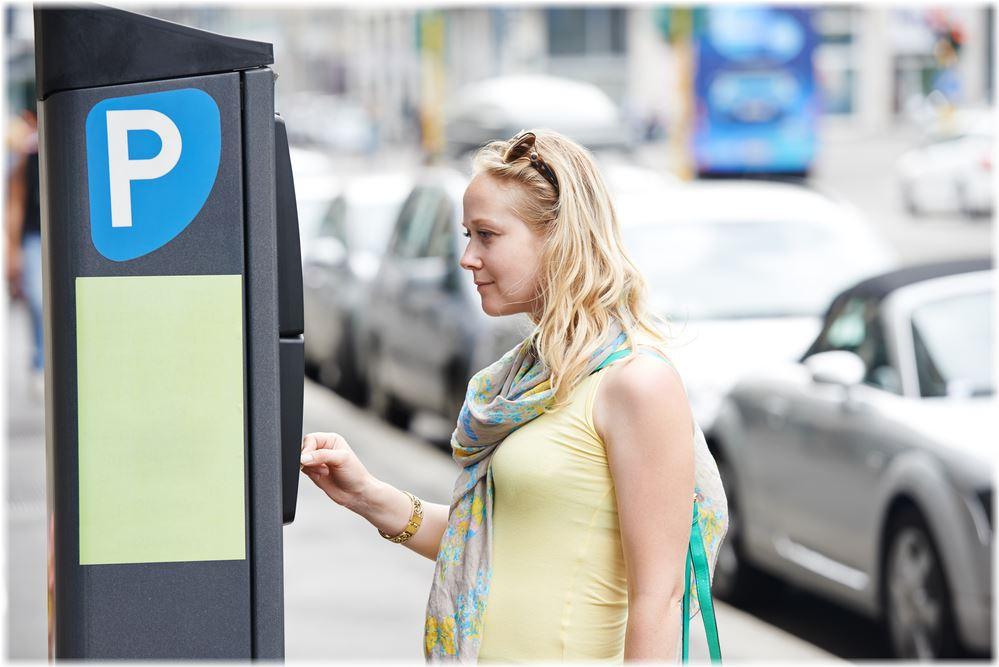 Как оплатить платную парковку в центре СПБ