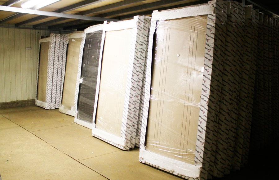 Узнайте про остатки дверей на складе