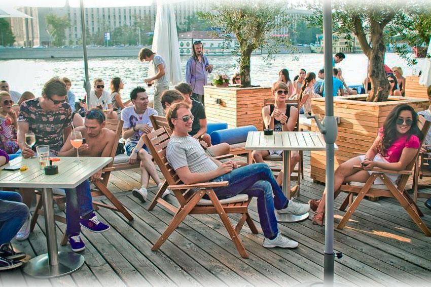 Недорогие летние кафе в Москве