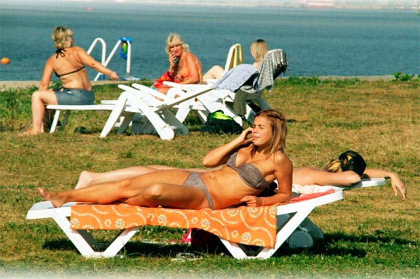 Пляжи Московской Области