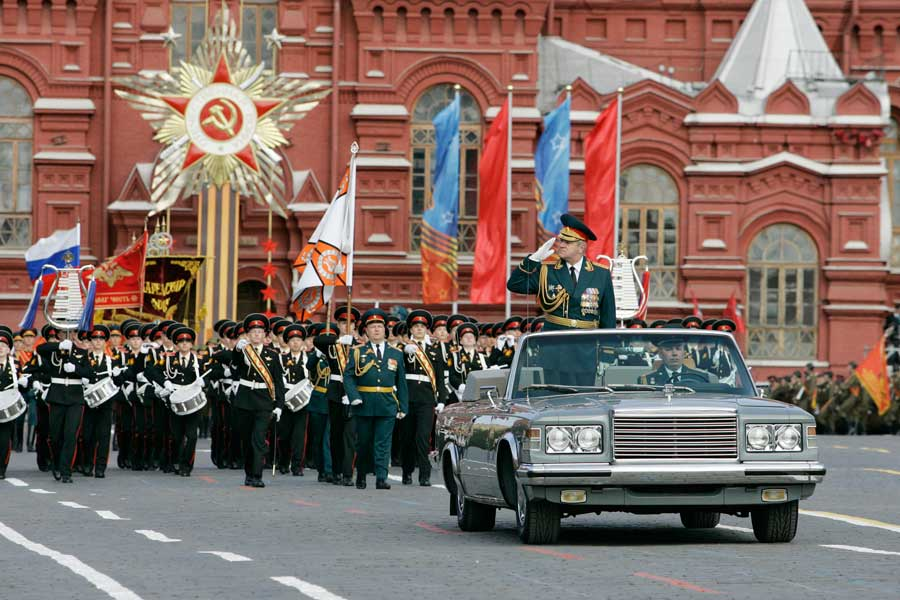 День Победы 9 мая 2015 в Москве - Парад на красной площади