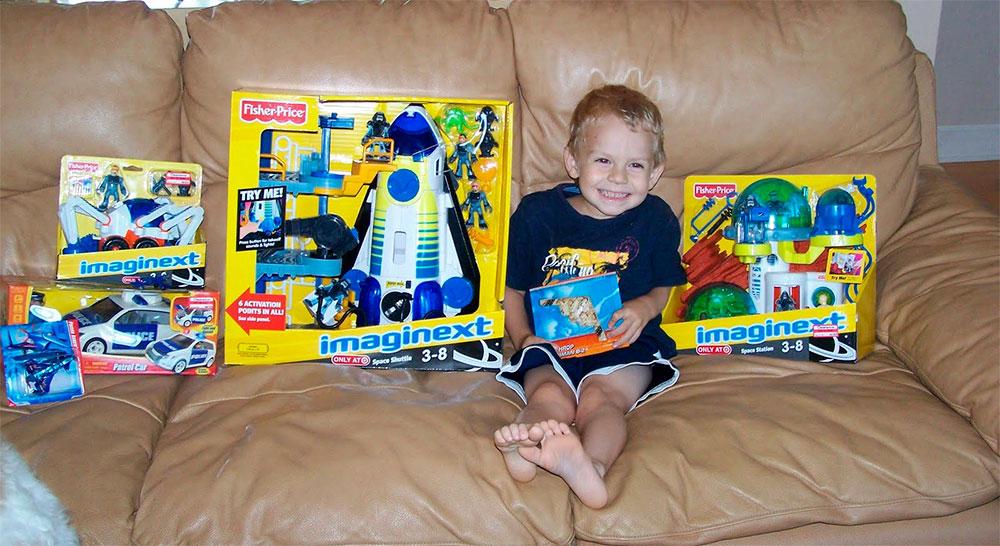 Подарок на 4 года мальчику своими руками
