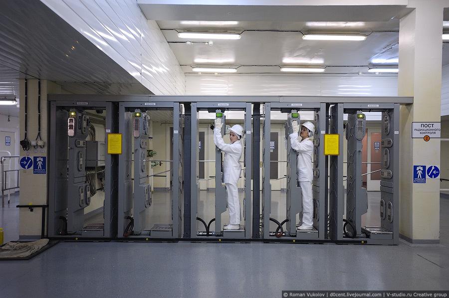 Контроль радиационного фона на АЭС
