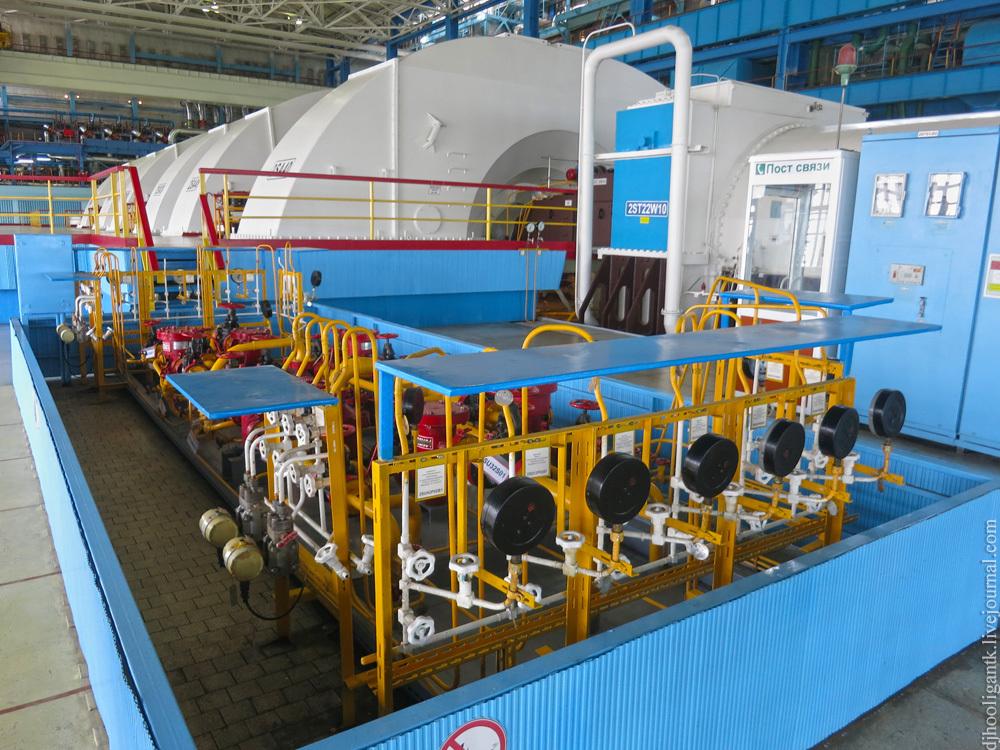 Турбины атомной электростанции
