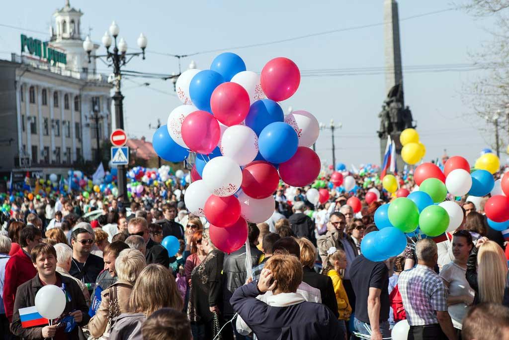 гуляния на майские праздники 2015