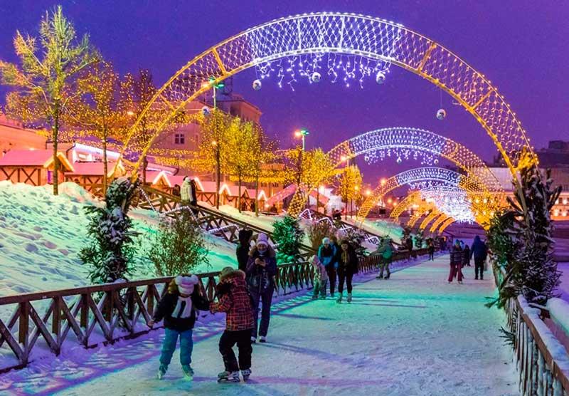Где отметить Новый 2021 год в Казани