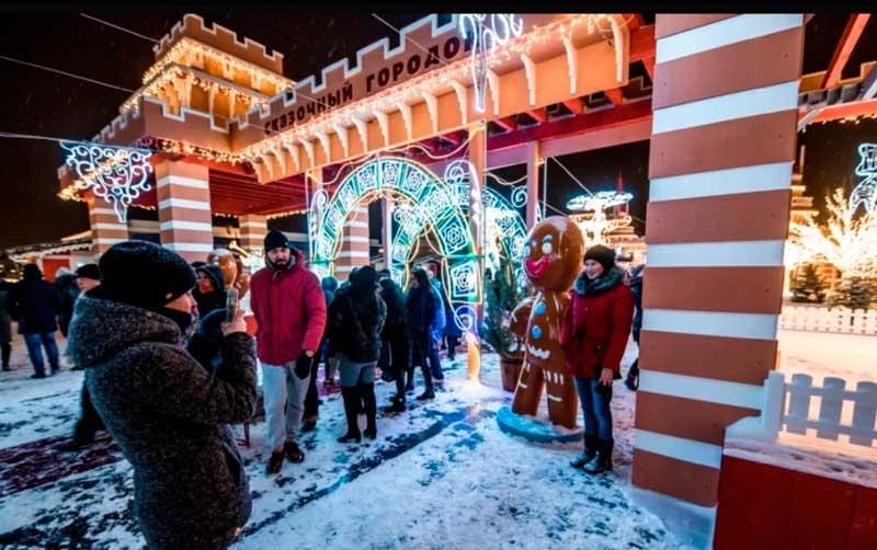 Какие мероприятия будут в Казани в новогодние праздники 2022